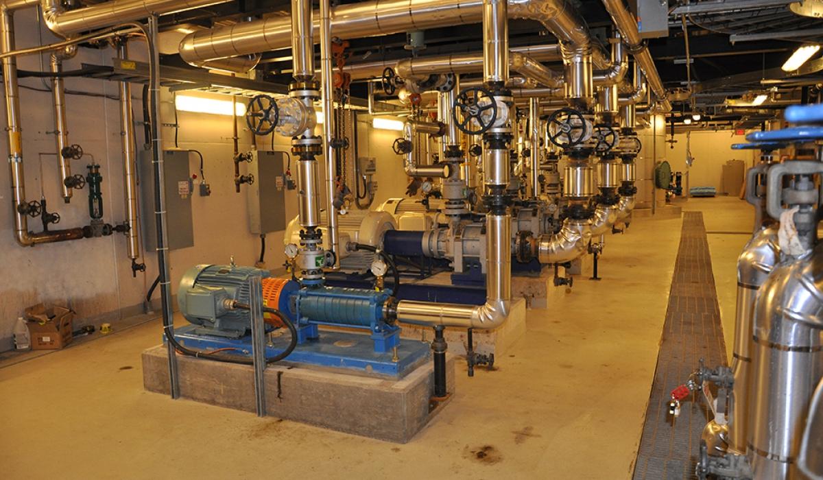 E Factor Engineering Vgh Energy Centre Boiler
