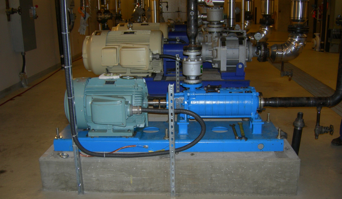 factor engineering vgh energy centre boiler feedwater pump upgrade projects hvac