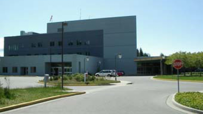 Powell River General Hospital - One of the sites Upgraded in 2008 VCHA Energy Projects