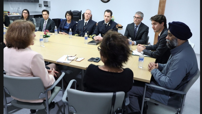Ministers and BCCfe Staff Hold Meeting at 625 Powell St. Boardroom (Courtesy Twitter)
