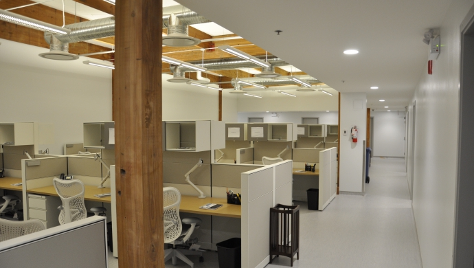 HVAC and Fire Protection Design for Open Office Areas at 625 Powell Street