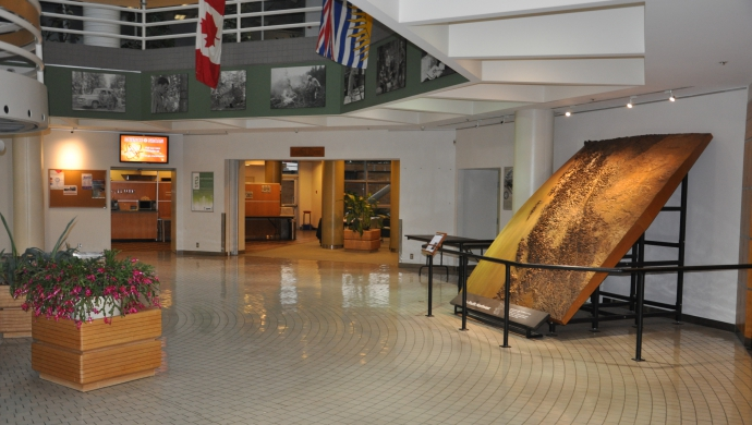 Pacific Forestry Centre Main Lobby